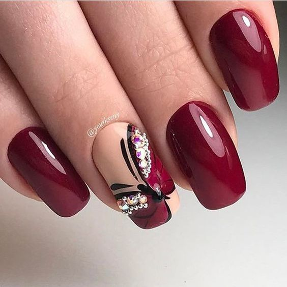 Dynamic Views Very Beautiful And Preity Nails Art Red: Tips To Look Gorgeous On Your Karva Chauth