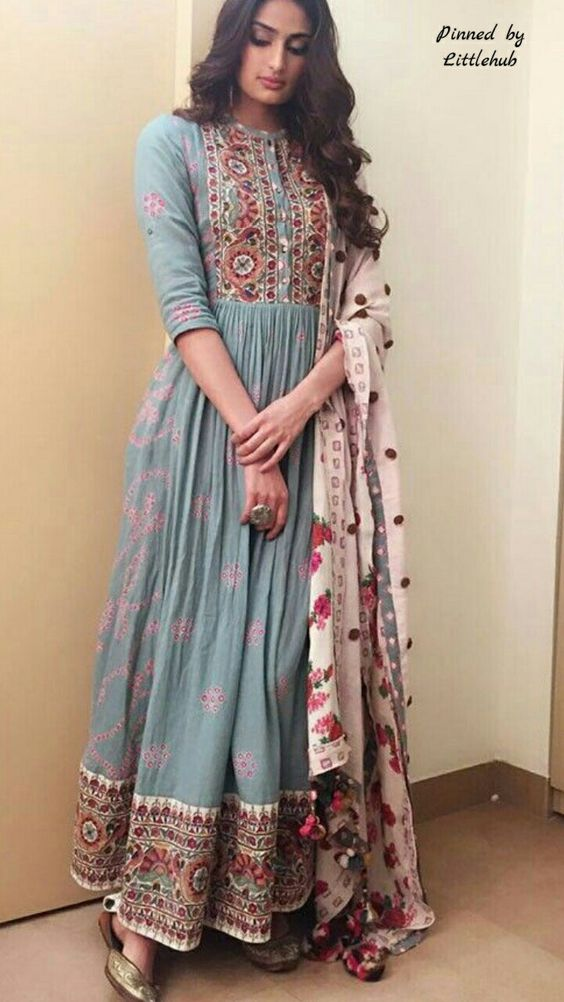 Anarkali suit designs 2018