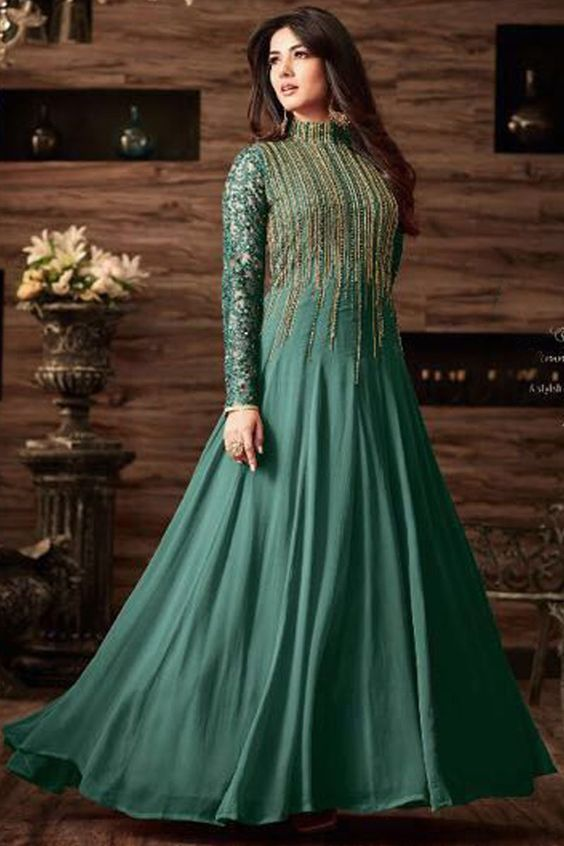 ecdb9d50f2 16 Unique and Trendy Indo Western dresses for Girls 2018