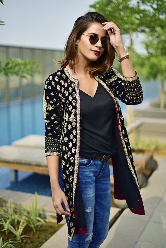 16 Unique And Trendy Indo Western Dresses For Girls 2018