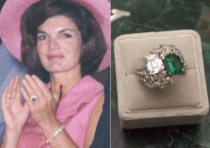 Jacqueline Kennedy Onassis's Engagement Ring