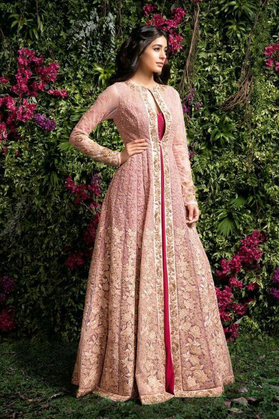 Indo Western Dresses Ideas For Wedding