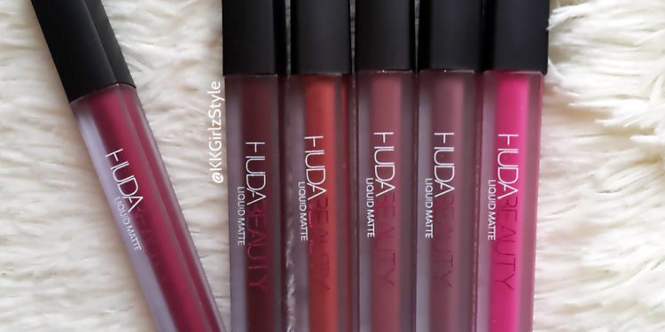 Huda Beauty Liquid Matte Lip Colors Review and Swatches