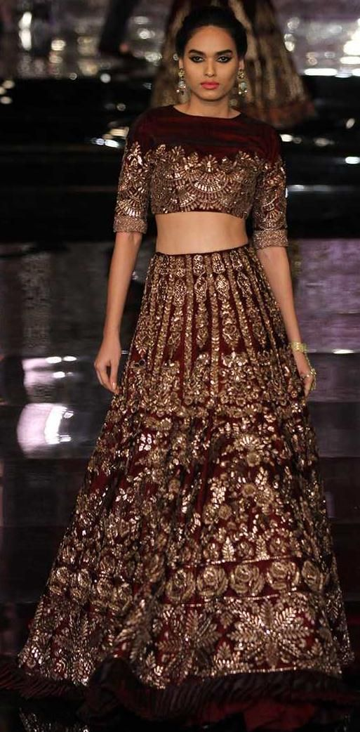 Latest Bridal Wear Lehenga Designs by Manish Malhotra