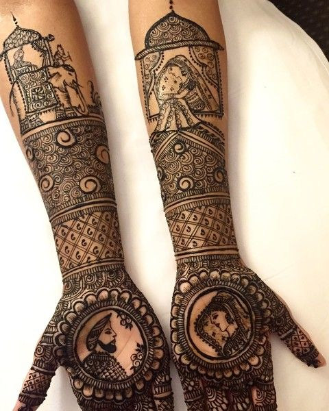 latest bridal mehndi