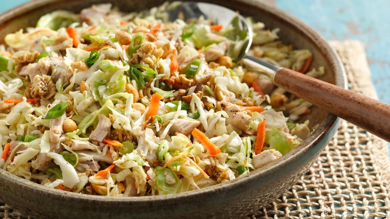 Crunchy Chinese Coleslaw