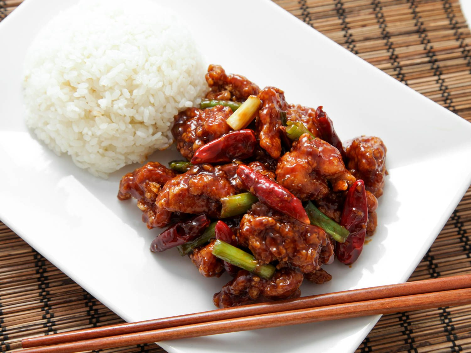 Healthy Chinese General's Chicken