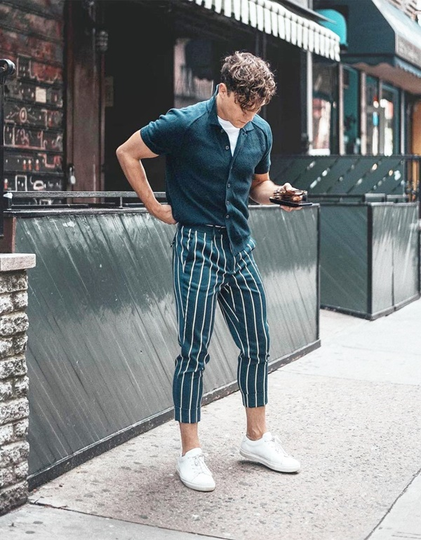 Striped Trousers can't be unnoticed