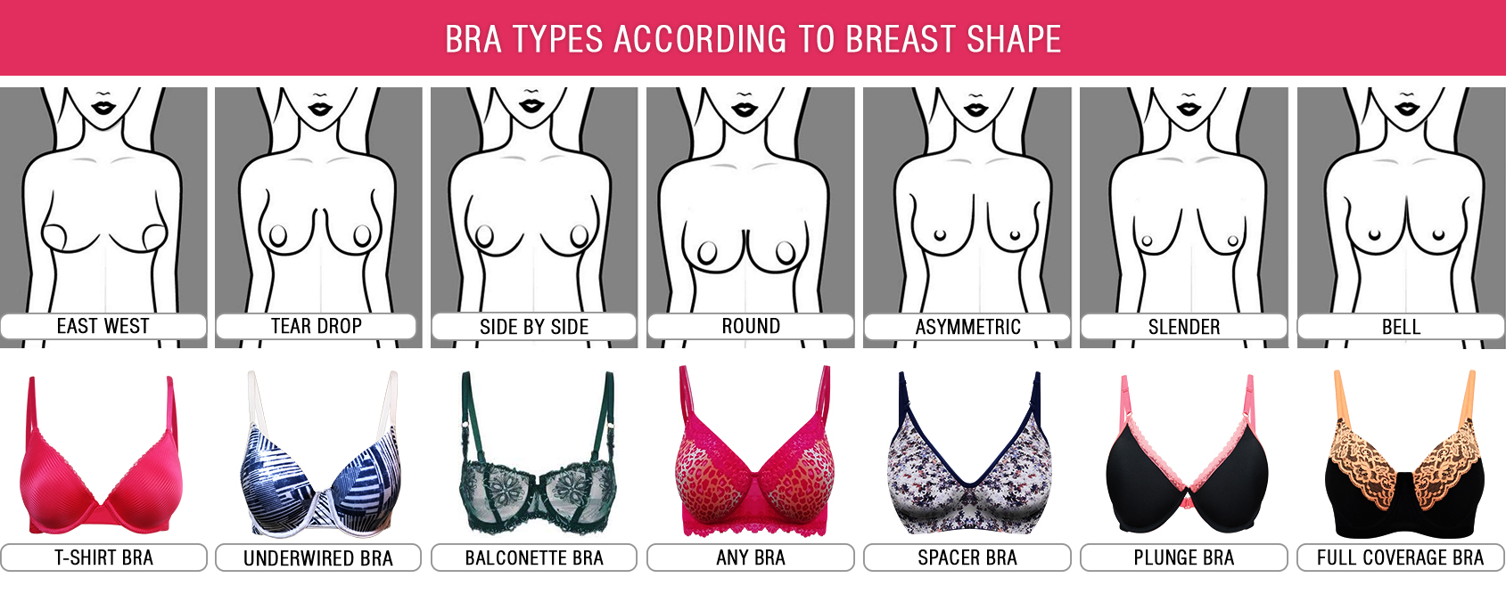 Know your body type 1 (Bra