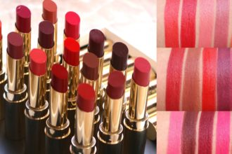 Lakme Absolute Matte Ultimate Lip Color swatches