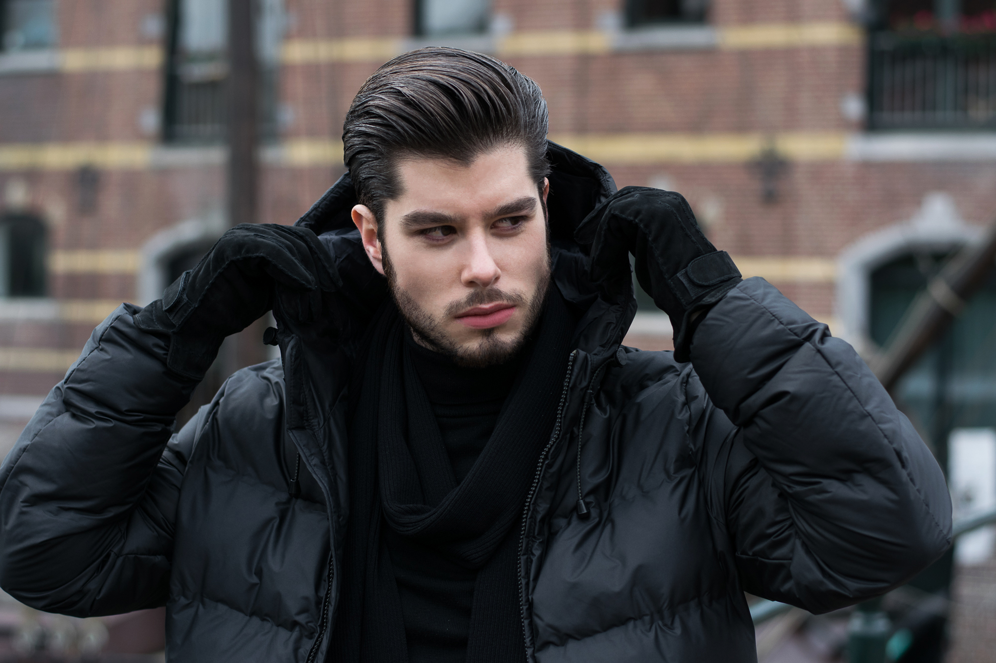 quilted jackets men fashion